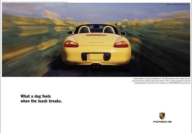 保时捷广告设计