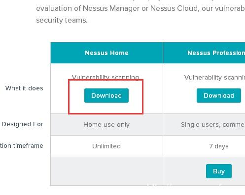 nessus下载安装教程