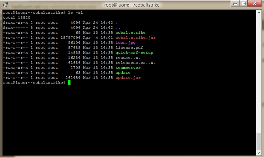 Cobalt Strike安装使用教程与DNS通讯演示[转]