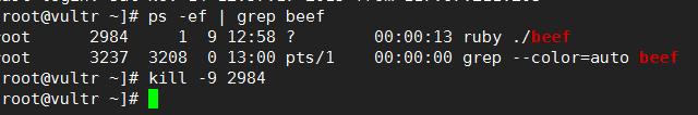 beef xss framework修改默认登录密码