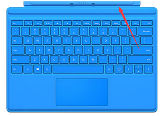 surface键盘盖失灵